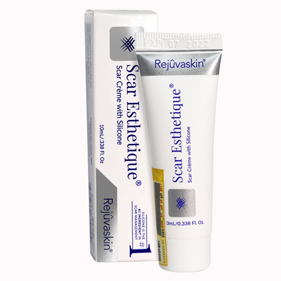 Kem xóa mờ sẹo rỗ Scar Esthetique|Rejuvaskin hiệu quả sau 4 - 8 tuần sử dụng