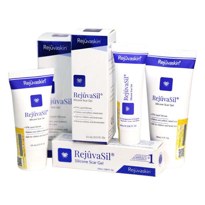 Sản phẩm gel xóa mờ sẹo Rejuvasil của Rejuvaskin