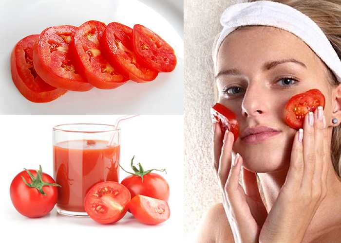 Trị sẹo thủy đậu bằng cà chua
