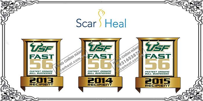 Scar Heal nhận giải USF Bull 56 trong 3 năm liên tiếp