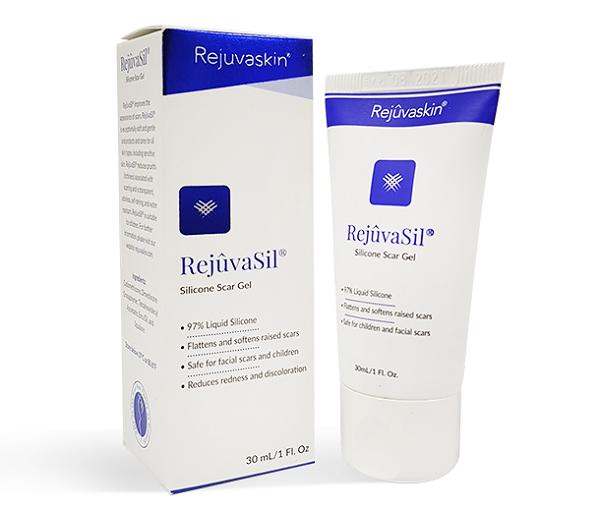 Gel trị sẹo Rejuvasil giữ ẩm và ngăn chặn sự phát triển của sẹo