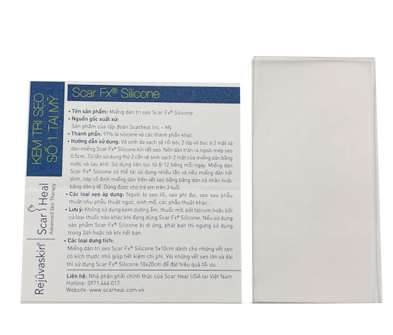 Miếng dán trị sẹo Scar Fx (5x10cm)