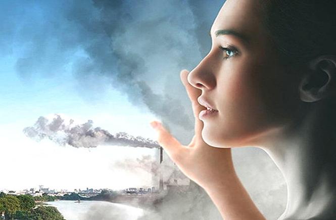 Ô nhiễm không khí tác động nặng nề lên làn da