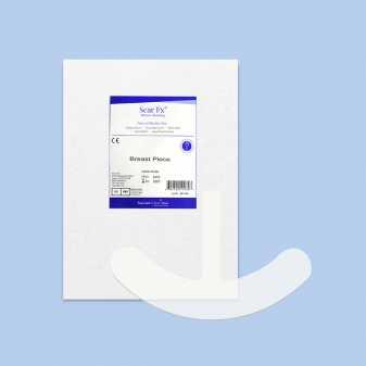Miếng dán ngăn ngừa và ép sẹo phẫu thuật ngực Scar FX Breast Piece