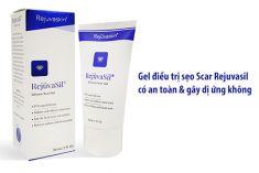 Gel điều trị sẹo Rejuvasil Silicone Scar có an toàn và gây dị ứng không?